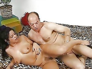 german raven hotty receives nailed