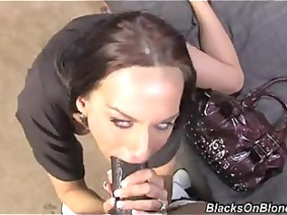 karina oreilley receives choked on a huge