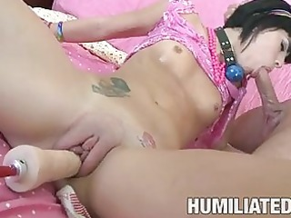 tattooed short haired brunette hair acquires
