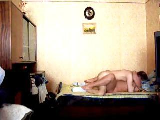 aged wife having sex on home movie scene