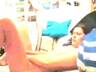 sweetheart masturbates on a cam