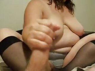 big beautiful woman cook jerking
