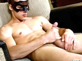 muscled dude showing his wonderful hard body part9