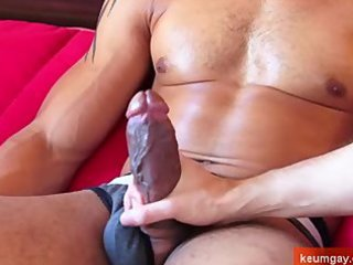 very lengthy and big cock of arab lad receive