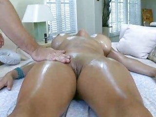 pervert oily massage