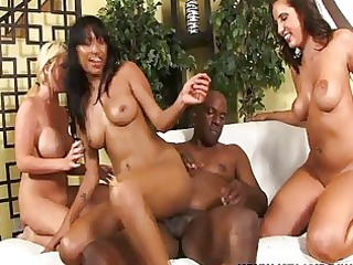 interracial foursome and group sex joy with kelly