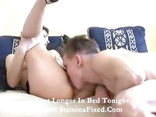 youthful boy getting a aged dark brown wife and