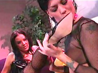 lesbo three-some foot fetish lesbo gal on beauty