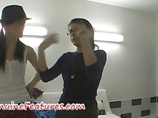 real czech babe drilled in backstage