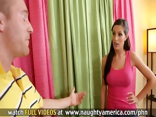 hawt dark brown mother i kortney kane acquires