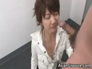naughty oriental mother i can blowing tube part10