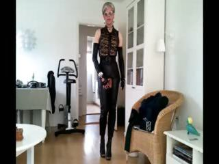 sissy hawt leather beauty 6