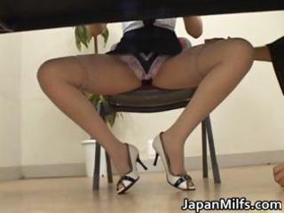 slutty japanese milfs engulfing and fucking part6