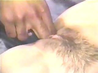 fingering her wet crack and arse oriental