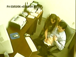 surprise office sex caught on camera