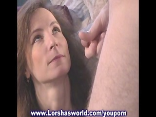 creamy thick cum swallowing