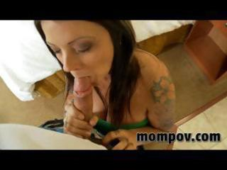 large tit mother i acquires drilled in hotel for