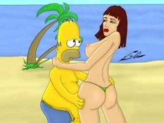 homer simpson family sex