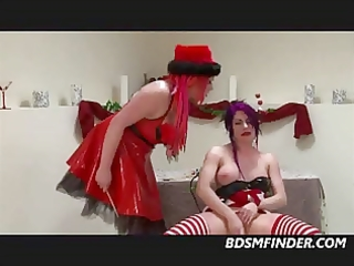 lesbo christmas domination