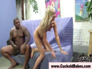 Interracial femdom fetish with a tinge of cuckold