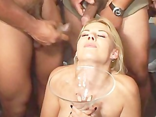 sextreme, bukkake swallowing #11