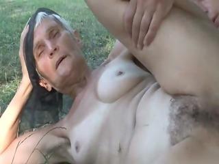 concupiscent bushy granny viviana bonks beneath