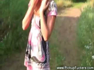 cutie flasing her bra buddies for fellow with