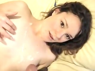 pleasant redhead expecting for her facial