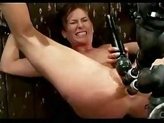 cutie with bound arms and legs getting her bawdy