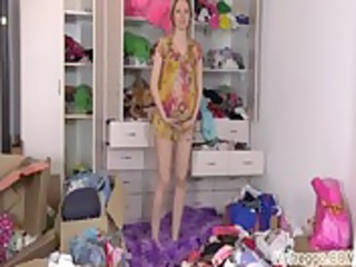 pigtail preggo anny wardrobe pleasure |