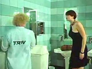 desiree cousteau restroom enema classic