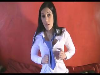 vikki brat school cutie uses bawdy pervert wankers