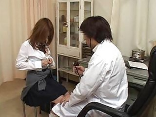 excited doctor fingering shaggy cookie