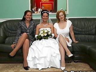 real brides partying!