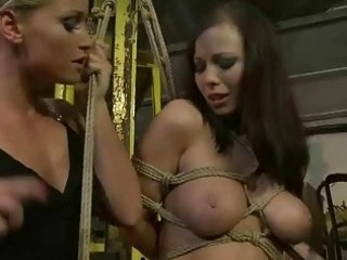 female-dominator punishing marvelous breasty