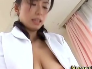 japanese nurse playgirl acquires drilled