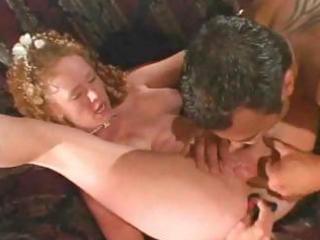 concupiscent redheaded bride audrey hollander