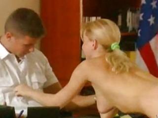 silvia saint office ejaculation
