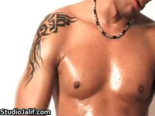 muscled brenno ferrari masturbating part6