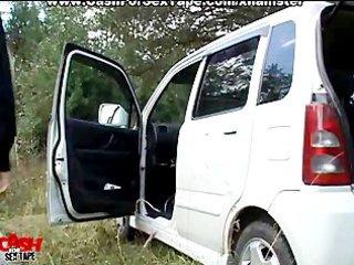 pair in a car