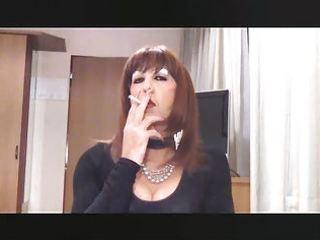 smokin sissy wench