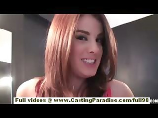 veronica franco hot redhead babe on tape and
