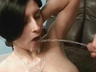 pair enjoys sexy pissing sex