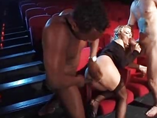 federica tommasi and luna in cinema by troc