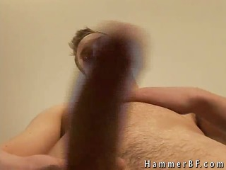 cute homo chap busting his nuts part6