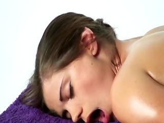 orgasmic chills massage - little caprice -fpd-