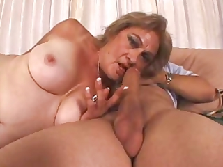 old bitch kathy jones does her thing