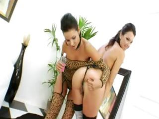 bum lesbo harlots drilled by monster