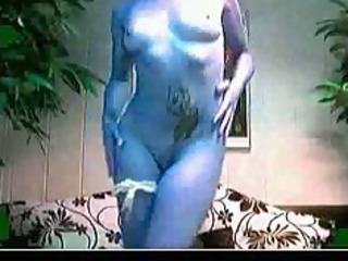 web camera gal disrobe & anal