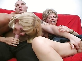 mad aged bitches share one powerful pecker